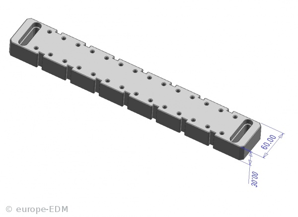 europe-EDM » 6. Drahtschneiden » Erodierzubehör und Rohmaterial